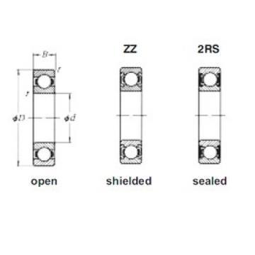 110 mm x 150 mm x 20 mm  Loyal 61922M deep groove ball bearings