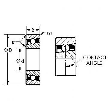 AST H71922C angular contact ball bearings