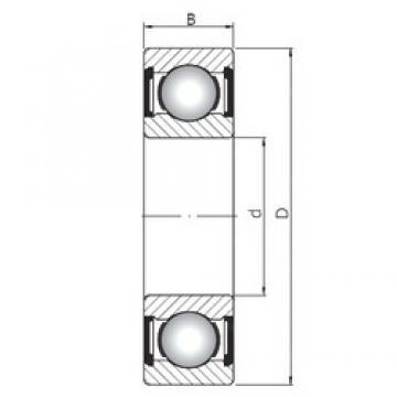 110 mm x 150 mm x 20 mm  ISO 61922 ZZ deep groove ball bearings