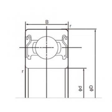 55 mm x 72 mm x 9 mm  NACHI 6811ZZ deep groove ball bearings