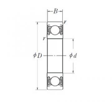 55 mm x 72 mm x 9 mm  NSK 6811DDU deep groove ball bearings