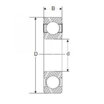55 mm x 72 mm x 9 mm  SIGMA 61811 deep groove ball bearings