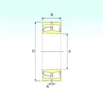 260 mm x 440 mm x 144 mm  ISB 23152 K spherical roller bearings