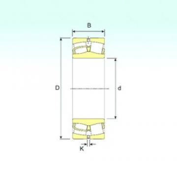 190 mm x 340 mm x 120 mm  ISB 23238 spherical roller bearings