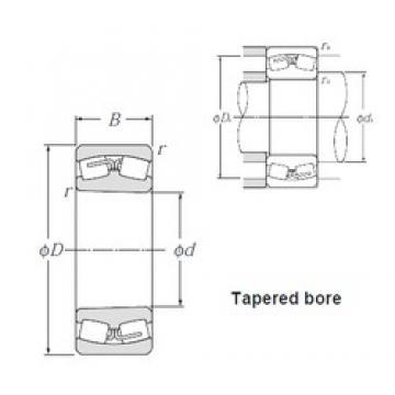 260 mm x 440 mm x 144 mm  NTN 23152BK spherical roller bearings