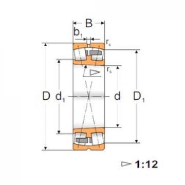 140 mm x 225 mm x 68 mm  Loyal 23128 ACKMBW33 spherical roller bearings