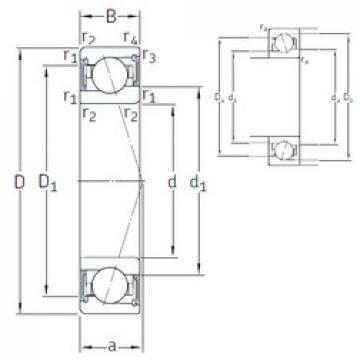 110 mm x 150 mm x 20 mm  SNFA VEB 110 /S/NS 7CE3 angular contact ball bearings