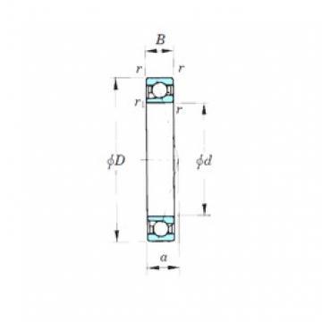 110 mm x 150 mm x 20 mm  KOYO 7922CPA angular contact ball bearings