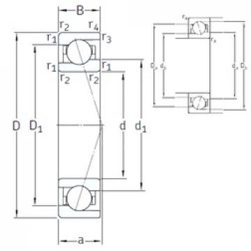 110 mm x 150 mm x 20 mm  SNFA VEB 110 7CE1 angular contact ball bearings