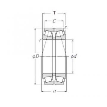 NTN 413152 tapered roller bearings