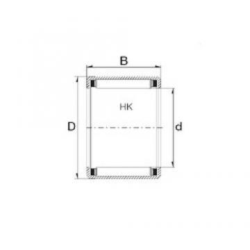 ZEN HK4520 needle roller bearings