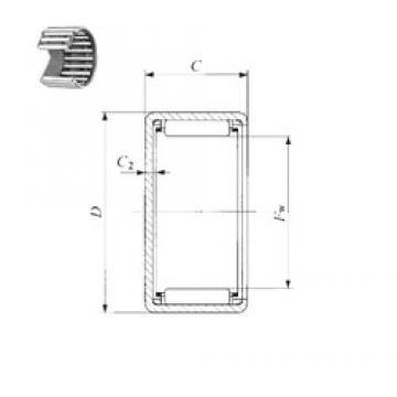 IKO TLAM 4520 needle roller bearings