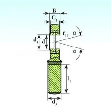 45 mm x 68 mm x 32 mm  ISB SA 45 ES plain bearings